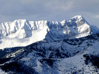 Storelk Mountain is one of the most impressive peaks on the Great Divide in this area.