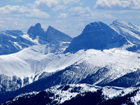 Cache Creek Elevators and Beehive Mountain are some of the most beautiful peaks at the headwaters of the Oldman River.