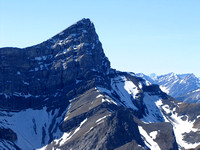 Peak 1 of Mount Lougheed looks fabulous from this angle.