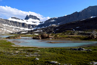 Here is a wider shot of the scenery just before Cataract Pass.