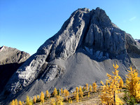"Unnamed Ridge North of Commonwealth Peak (unofficially called ""Pig's Back""), September 21, 2014"